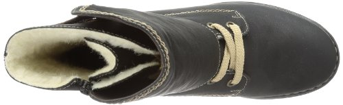 Rieker 75441, Bottes femme Noir - Schwarz (schwarz/peanut 00)