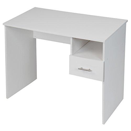 Kinderschreibtisch Schreibtisch mit Schublade und Ablagefach in 2 verschiedenen Farben