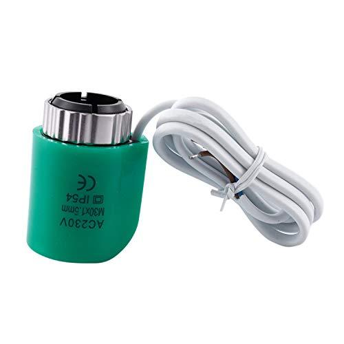 Thermostat-boden (TOOGOO 220V 2Va Schlie?er Fu?boden Heizung Elektrische Stell Antriebe Wasser Abscheider Temperatur Regel Ventil für Thermostat Vielf?ltig Boden Heizung Kühler)