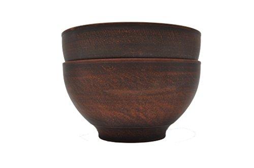 Set von 2 Terrakotta-Schüsseln - Durchmesser 14,5 cm - Handmade - Ukraine