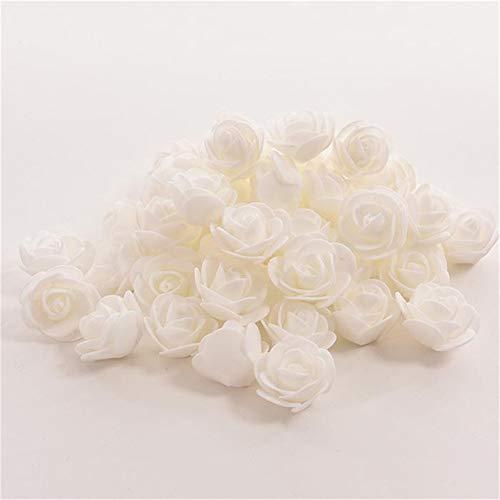 PoeHXtyy Künstliche Blume Rose Marry Acting 50 stücke Künstliche Rosen für DIY Bouquets Hochzeit Home Decor