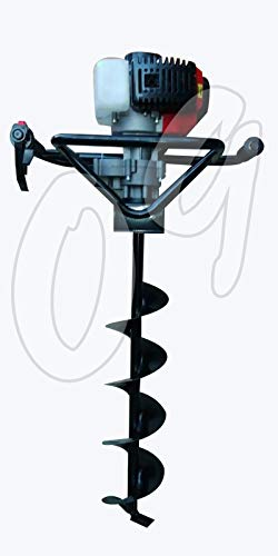Expertshop MOTOTRIVELLA A Scoppio 52 CC Punta TRIVELLA 10/15/20 CM + PROLUNGA 40 cm