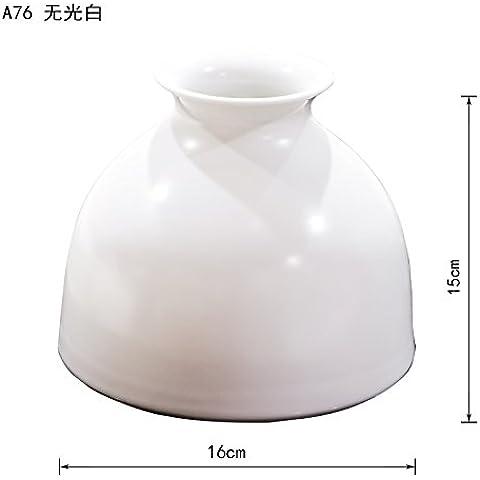 Vasi di ceramica moderna vasi da tavolo bianco con vasi