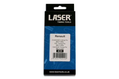 Laser 4020 Lot de goupilles d'arrêt pour système de distribution Renault