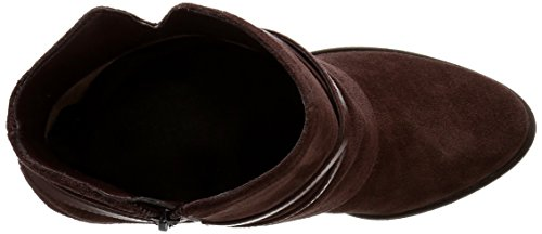 Jessica Simpson Calven Femme Chunky Talon Tailles chaussons Bottes en cuir - Hot Chocolate