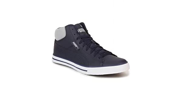 66573e64095d22 Puma Men s Navy Synthetic Cotton Sneaker -11  Buy Online at Low Prices in  India - Amazon.in