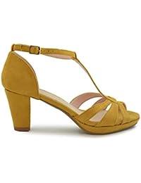 661cb71d9f9 Amazon.es  La Mostaza - Zapatos de tacón   Zapatos para mujer ...