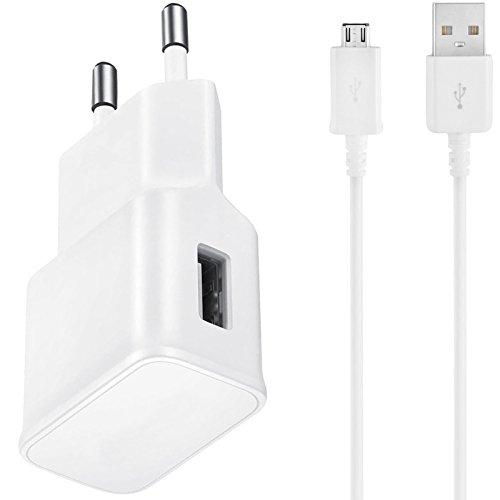 USB Ladekabel Datenkabel Verbindungskabel SET für Wiko Rainbow Jam, Rainbow Up, Rainbow Lite, Eainbow 4G, Lenny, Lenny 2 inkl. Ladegerät Netzstecker - Rainbow Usb-kamera