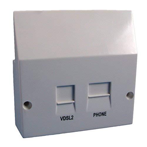 Solwise ADSL-VDSLFACE-Sol VDSL2 - Divisor filtrado SIN498 y SIN346  Compatible con Placa Frontal