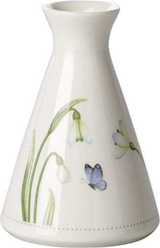 urful Spring Vase, 12x13 cm, Porzellan, Weiß/Bunt ()