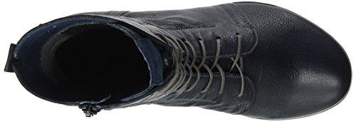 Think Denk, Stivali Desert Boots Donna Blu (Water/kombi 86)