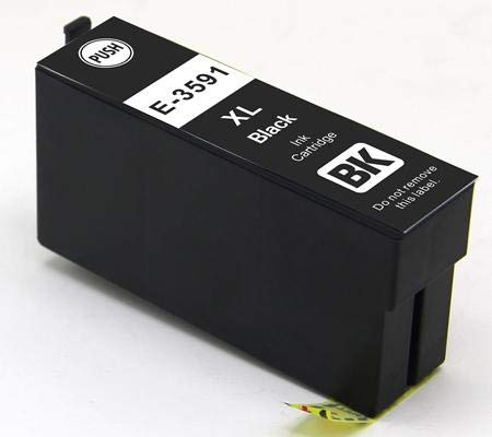 Cartuccia compatibile per Epson wf-4720dwf wf-4725dwf wf-4740dtwf wf-4730dtwf - Nero - 150 pagine - t3591