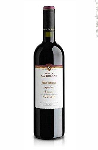 Tenuta Ca' Bolani Refosco dal Peduncolo Rosso Friuli Acquileia Doc - 6 Confezioni da 750 Ml