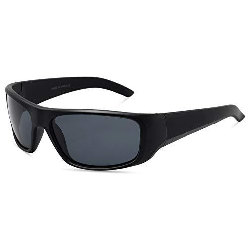 JULI Polarisiert Sport Sonnenbrillen Damen Herren Fahren Baseball Radfahren Fischerei Golf Superleicht Unzerbrechlich Rahmen 1418