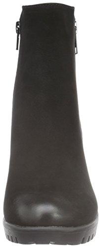 Spm Haut Ankle Boot, Bottes Classiques femme Noir - Schwarz (Black/Black)