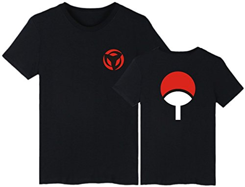SERAPHY Unisex Camiseta Naruto Top Uchiha Sharingan...