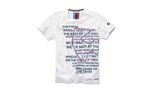 BMW T-Shirt Motorsport Graphic da Uomo, Colore: