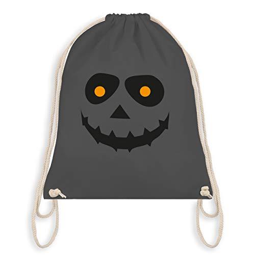 (Halloween - Gruseliges Gesicht Fasching - Unisize - Dunkelgrau - WM110 - Turnbeutel & Gym Bag)