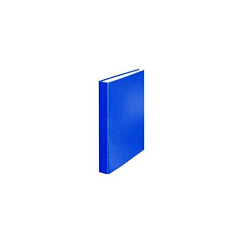 Falken PP-Color Kunststoff-Ringbuch 2 Ring-Mechanik DIN A5 Füllhöhe 25 mm blau Kalender Organizer Ring-Ordner Hefter Plastikordner
