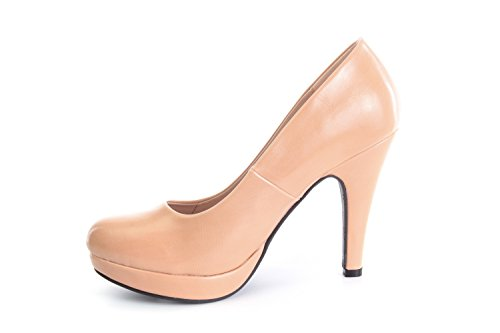 Andres Machado.AM554.Peep-Toes Vernis.Pour Femmes.Grandes Pointures . Maquillage