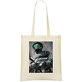 Hell Rell Custom Printed Shopping Grocery Tote Bag 100% Soft Cotton Eco-Friendly & Stylish Handbag For Everyday Use Custom Shoulder Bags