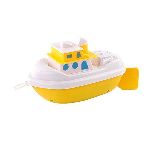 Newin Star Juguetes de Natación de Baño,Barcos flotantes bañera Juguetes de Cuerda Juguetes de Agua para niños