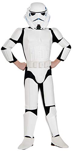 Original Lizenz Star Wars Rebels Stormtrooper Kinderkostüm - Größe S - Star Wars Rebels Stormtrooper Kostüm