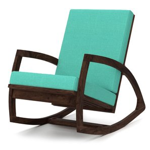 Custom Decor Urban style Coaster Southern Country Plantation Porch Rocker/Rocking Chair, Walnut Wood Finish  available at amazon for Rs.10999