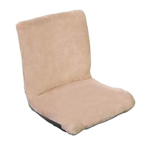 Qing MEI- Faule Couch Tatami Faltbares Einzelbett Auf Kleinem Stuhl Bodenständer Verstellbarer Stuhl Rückenlehne Computerstuhl Spiel Meditationsstuhl Belastbarkeit: 120kg -