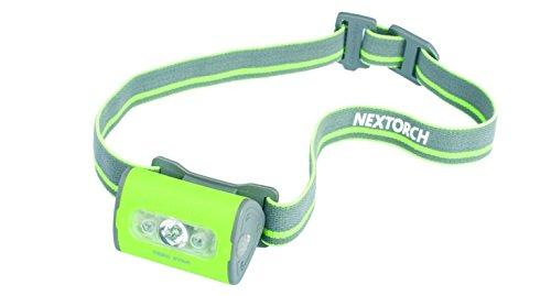 Nextorch 140 Lumen Trek Star 3AAA White/Red LED Headlamp Color Green