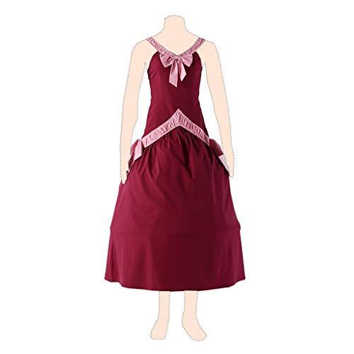 Fairy Tail Cosplay Kostuem Mirajane Strauss Ver.1 Red Dress Medium (Mirajane Cosplay Kostüm)