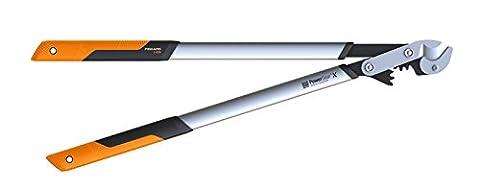 Fiskars 112440 Powergear X L Coupe-branches à crémaillère/enclume 80 cm ø 55 mm