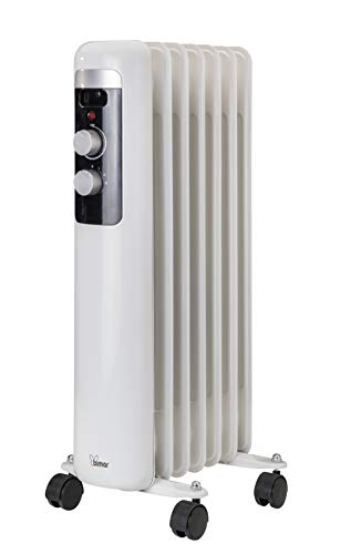 Bimar Radiador Elèctrico de Aceite de Bajo Consumo HO407 con 7 Elementos y 5 Canales de Circulación...