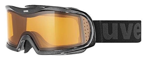 Uvex vision optic l Skibrille, Black Met, One Size -