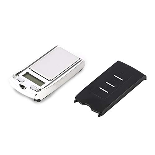 Features:1.This is a mini digital scale. 2.Portable and lightweight,easy to carry.3.Auto power-off,low battery indication.4.High accuracy,fast response.5.LCD backlight display,easy to read.Description:1.Multiple weighing modes:g/dwt/ct.2.Overload ind...