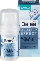 Balea Augencreme Beauty Effect Eye & Lip Serum, 1 x 15 ml