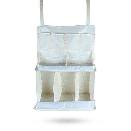 Edealing Wateproof Nursery Organizzatore Culla sacchetto d'attaccatura di immagazzinaggio del pannolino infantile Presepe Salviettine 3d Bambini