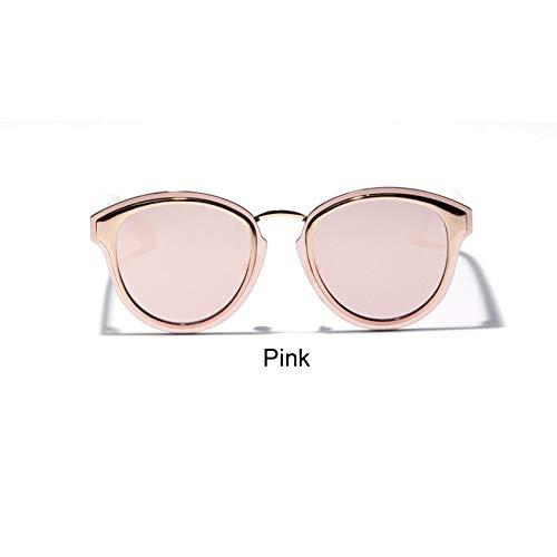Zbertx Luxus Damen Schildkröte Sonnenbrille Frauen Braun Gradient Sonnenbrille Für Weibliche Trendy Uv400,Rosa