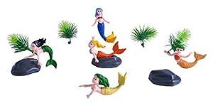 Wild Republic- Juego de Caza Sirenas, Pequeño, Cubo Aventura Mini, 10 cm, 12 Piezas, (23156)
