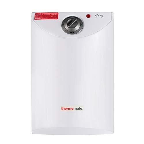 Thermomate UT10 10 Liter Untertisch Boiler, 2,0 kW Elektronischer Durchlauferhitzer, Geeignet für Küche und Badezimmer