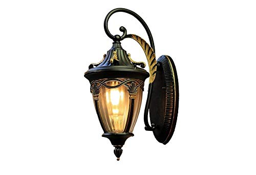 Balcon couloir escalier étude européenne retro lamps cuivre
