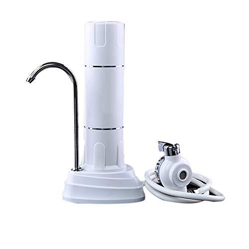 BALALALA Wasserfilter, Arbeitsplatte Trinkwasserfiltersystem, Swan Neck Sink Wasserfilter, Komplettes Wasserzapfenset, für Häuser Einfache Installation -