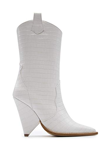 aldo castagna women's desi133100white white leather ankle boots
