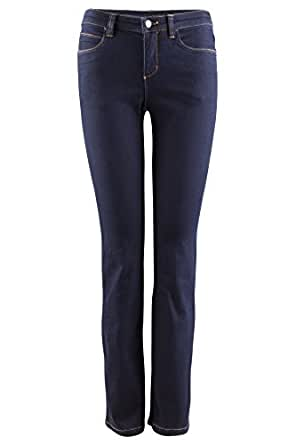 Wonderjeans by Olivia Damenjeans mit Stretchanteil, optimale Passform Länge 32 inch dark blue, dunkelblau, Farbe:blau;Jeansgrößen:32;Beinlänge:32