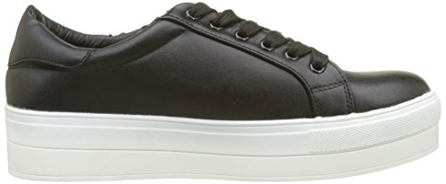 Molly Bracken Damen Basket perroquet Sneaker Schwarz (Black)