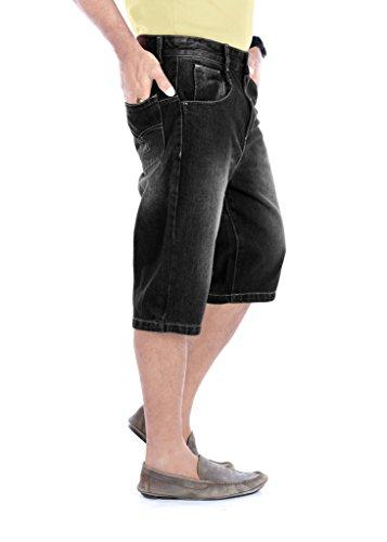 100-Cotton-Regular-Fit-Non-stretchable-Mens-Haiper-Denim-Shorts-by-Uber-Urban