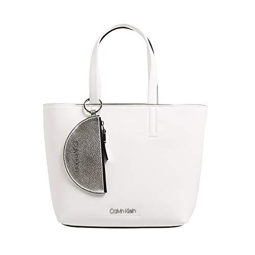 Calvin Klein CK Must Medium Shopper Bright White -