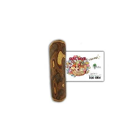 Bio Mordiscos Hundespielzeug kauspielzeug aus Olivenbaumholz für Hunde – 100% natürlich