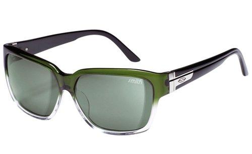 Smith Herren Sonnenbrille Jett, Emerald Black/Grey Green, 3000902040