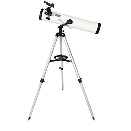 Telescopio astronómico apertura solo tubo 76 mm